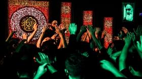 عزاداران حسینی هیئت انصارالمهدی یزد شب دوم محرم 97