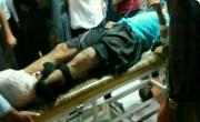 قطار مچ پای کارگر یزدی را قطع کرد