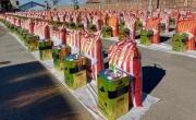 توزیع 3000 بسته معیشتی فاطمی در یزد